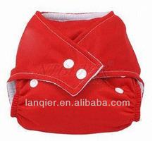 100% cotton diaper fabric prints cute diaper baby breathable