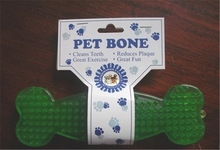 Pet bone TPR toy / Hog dog chew bone toy / dog dental chew toys
