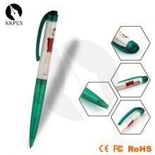 coil desk pen plastic coil pen