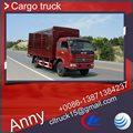 4x2 usado caminhão de alimentos móvel para a venda, cabine dupla caminhões com preço de fabricante