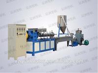 EVA plastic film granules making machine/high quality plastic granulator/plastic granule pelletizing line