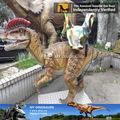 Mi dino- la vida tamaño estatua de dinosaurio robot dilophosaurus mini paseo