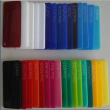 Cheap flexible colored transprent acrylic sheet