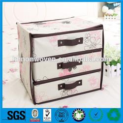 Supply nonwoven underwear storage box,nonwoven shoe box