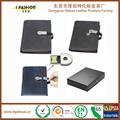 2017 notebook in pelle ricaricabile con usb