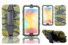 Heavy duty belt clip camo cover for Samsung Galaxy Note 3 N9000