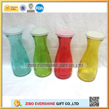 hot sale 500 ml and 1000 ml glass bottle with lid