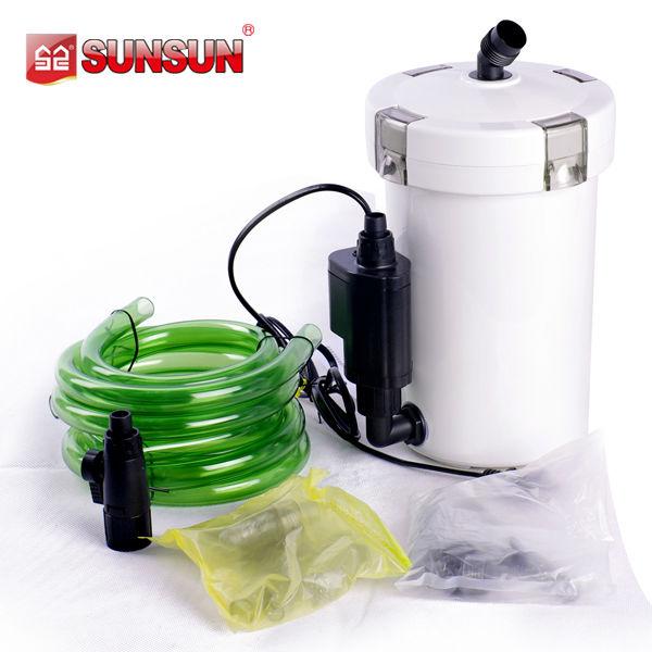 Sunsun small aquarium water filter with pump for fish bowl for Small fish bowl filter