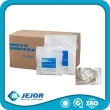 No Easy Fiber Off 8''X8'' 210g/m2 Clean Room Wiper Microfiber Wipes