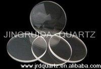 Quartz Fused Plate/clear/transparent/opaque fused quartz glass plate