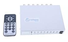4 Channel CH Video Quad Camera Processor Switcher 4CH COLOR VIDEO QUAD PROCESSOR CCTV CAMERA SYSTEM 4CH Channel CCTV Quad Splitt