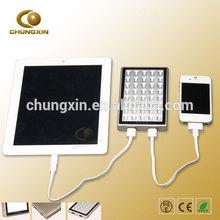 High quality !!! SMD chipset multipurpose 6500mAH/10000mAH aluminium power bank for macbook pro /ipad mini