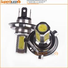 2 x7.5W High Power Headlight Car Fog LED Bulb Light Head Lamp H4 3 Colors