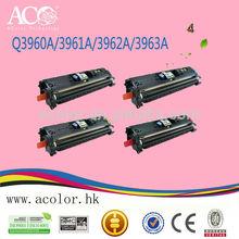 For HP Laser Jet 2550/2820/2830/2840 toner q3960a/ q3961a/ q3962a/ q3963a