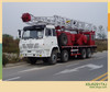 oil well service machine truck-mounted oil rigs workover