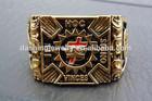 masonic knight templar ring stainless steel wedding ring golden ring