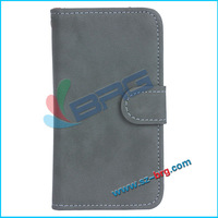 BRG-Wallet stand leather flip case for samsung galaxy note 3,cool flip cover for note 3