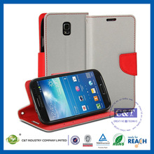 New Arrival! mobile phone accessories wholesale stand flip leather case for samsung s5 i9600