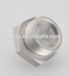 Chinese cnc parts aluminum screw hex head cap screw hex head knob screw