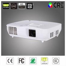 Best Full HD 1080P 1920x1080 Home Theater PC HDMI USB DVI Video HDTV RGB 3LED Cinema 3LCD Projector For MAC