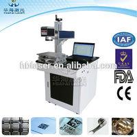 Ear tag printing machine 20W Fiber Laser Desktop Marking Equipment