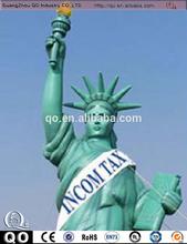 venta al por mayor de paz gigante de enviado de la moda de dibujos animados inflables estatua de la libertad