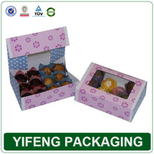 wholesales cardboards papers pvc cupcakes box withs pvcs windows