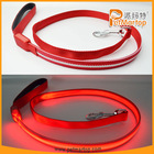 NEW dazzle star flat led flashing dog leash TZ-PET6202 best led dog collar and leash