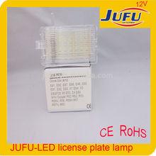 2014 new designed high power car LED license plate lights for MINI Cooper