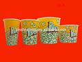 venta caliente pp palomitasdemaíz el diseño del cliente baratos de plástico caja de palomitas de maíz