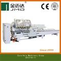 alumínio máquina de corte double mitre serra para perfis de alumínio