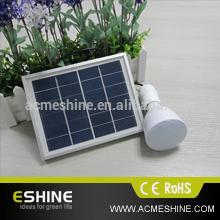 Eshine ELS-17F portable solar lighting system solar rechargeable lantern /flashlight/lamp