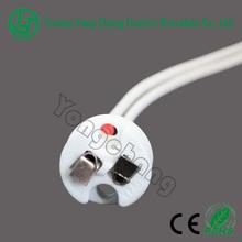 Halogen lamp socket GU5.3 MR16 ceramic lamp holder