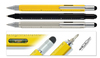 2014 4inch the newest DIY 5 in 1 tool pen with ball pen/ gradienter/ruler/screw driver/silcone tip