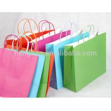 2014 hot sale cheap paper bags printed custom made shopping bags