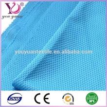 transpirable ajuste seco chispa malla de tela para trajes de deportes