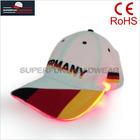 high quality baseball led cap fiber optic hat