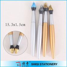 Fashion Plastic Ballpoint Paint Brush Pen
