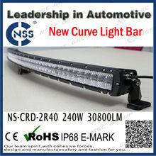 CREE 60W Curve LED Light Bars 50 Inch Driving Lights 2R 40inch