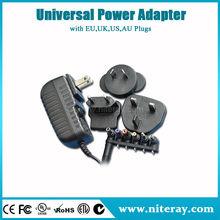 5v 1500ma ac dc adapter 650ma 18v with CE RoHS UL FCC
