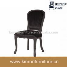 Preto Bonaparte cadeira cadeira de madeira antigo usado mobília da sala de estar mobília da sala de jantar cadeira lateral