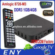 on sale amlogic m3 tv converter box google android 4.0 tv box amlogic tv set top box