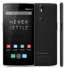 واحد زائد واحد 1+ الهاتف المحمول الهاتف المحمول 4g lte كوالكوم أنف العجل 801 2.5 3gb المضغوطةدي 16gb غيغاهرتز ذاكرة الوصول العشوائي