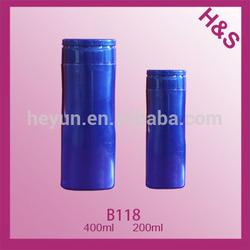200ml 400ml PET shampoo/lotion plastic PET clear perfume bottle B118