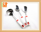 Mirror polishing stainless steel kitchen cooking tools