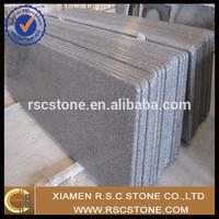 China precut apple green granite countertops