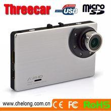 3inch LCD 150deg angle GPS SOS G-sensor loop recording 1080p car dvr g8000h