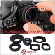 MCOPLUS 1.08X-1.58X Magnifying Eyepiece Camera Eyecup for Canon/Nikon/Sony/Olympus/Panasonic DSLR camera