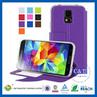 Wholesale hot selling fashion flip case galaxy s5