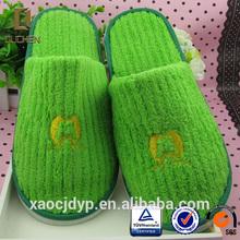 Fancy disposable hotel slippers kids